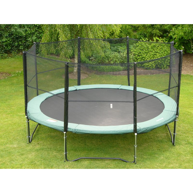 trampoline b q. Black Bedroom Furniture Sets. Home Design Ideas