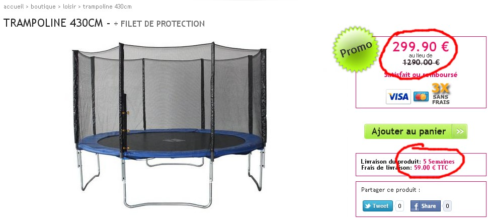 et avis pour bien acheter un trampoline trampoline expert. Black Bedroom Furniture Sets. Home Design Ideas